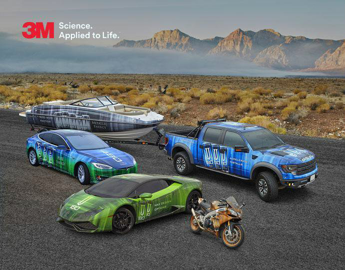 New vehicle wrap innovations from 3M - Admark Visual Imaging