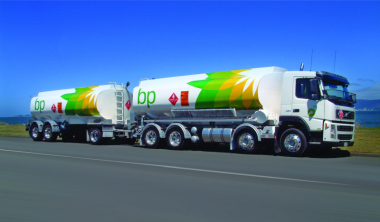 BP TANKER WRAP BY ADMARK